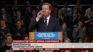 David Cameron's speech at the Conservative Spring Conference, 28th March 2015