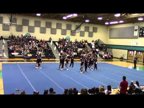Gadsden High School Cheer at GISD Invite