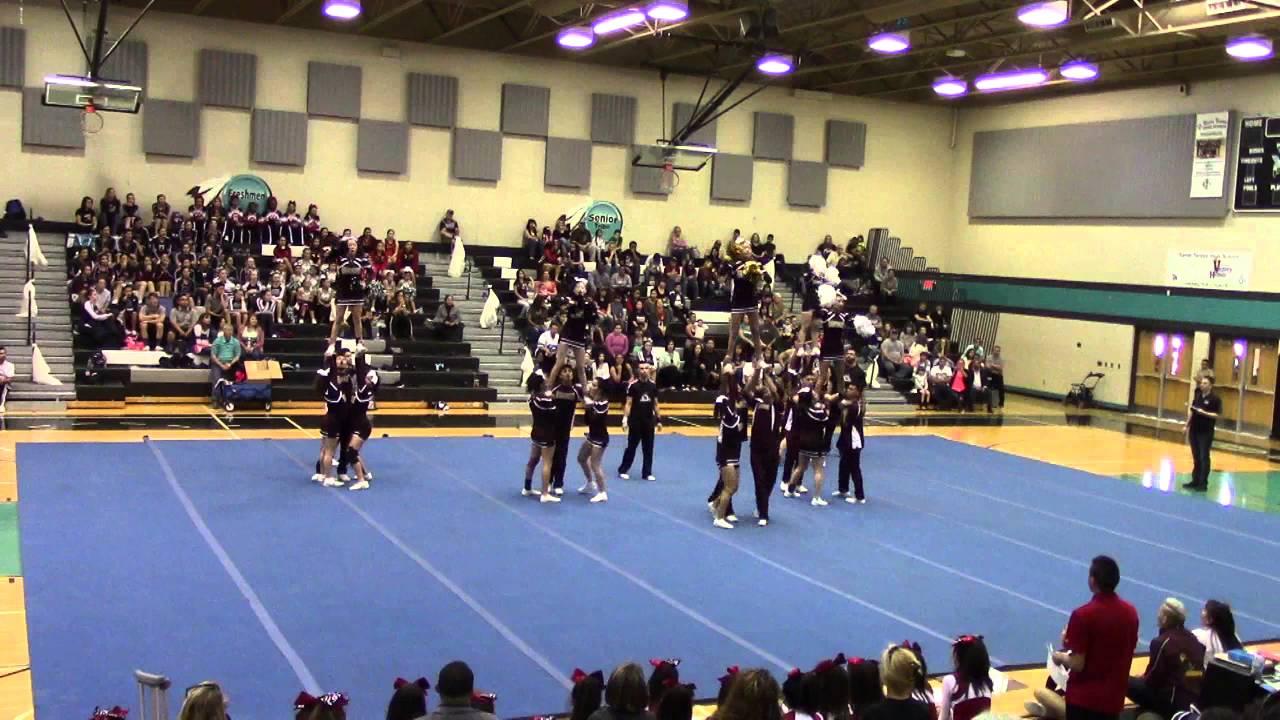 Gadsden High School Cheer at GISD Invite
