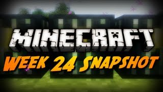 Minecraft Snapshots - 12w24a & 12w23b - Publish Command, Tripwire Changes & More!