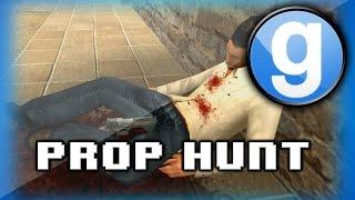 Prop Hunt Funny Moments - MLG Prop Hunt, Nogla Fail, Grenade, Desert Eagle Prop!