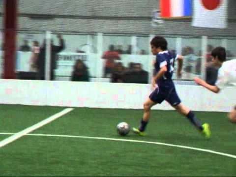 GREAT indoor soccer GOAL!!! - YouTube