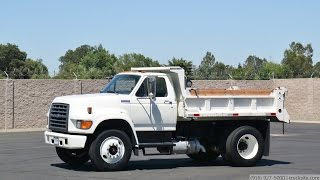 1995 Ford F800 5 Yard Dump Truck