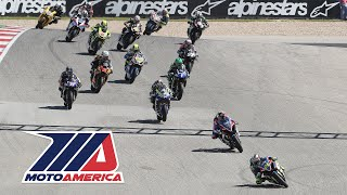 MotoAmerica EBC Brakes Superbike Race 2 at COTA