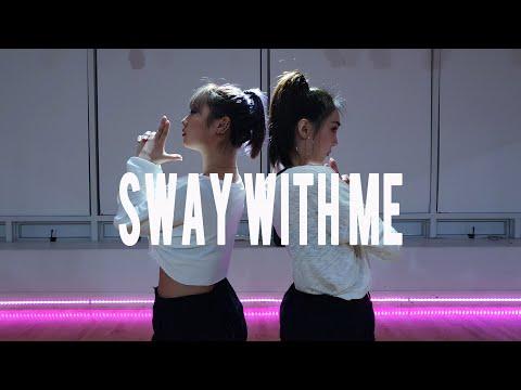 (분당/성남/야탑 댄스학원)  Saweetie & GALXARA - Sway With Me    | Choreo By Waack-B