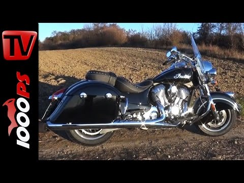 Indian Springfield | Erste Ausfahrt | Vgl. HD Road King Foto