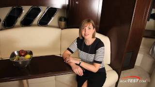 Cruisers Yachts 420 Sports Coupe 2011 - Interior Review  By BoatTest.Com