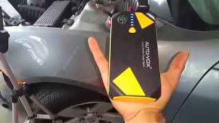 AUTO VOX Portable Car Battery Booster Jump starter review