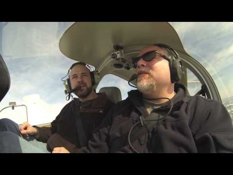 First Time Flyer & The DA-40 KUGN - KJVL