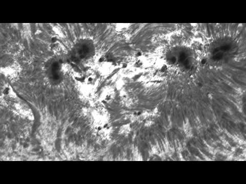 Solar animation in H-Alpa, 11 and 12 May 2015