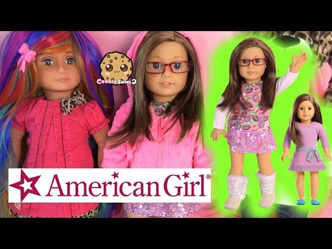 American Girl Truly Me Collection Doll + Fashion + Custom 18 Inch Dolls - Cookieswirlc Toy Video
