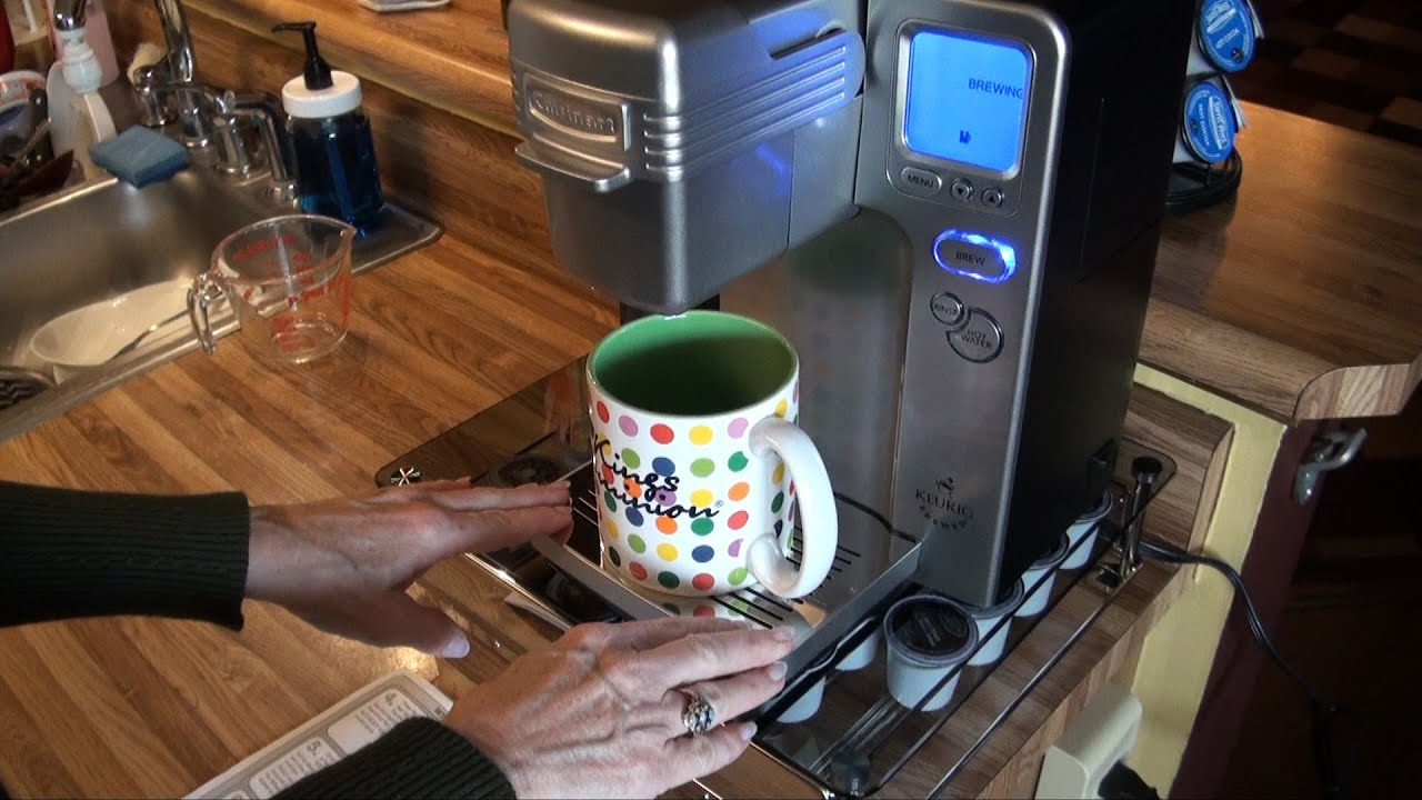 Testing out our new Cuisinart SS700 coffee maker review YouTube