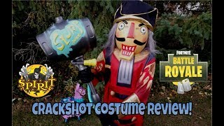 "Fortnite's ""Crackshot"" Costume at Spirit Halloween! 