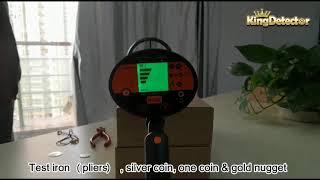 A Video for MD-3060 metal detector, Assembling, Adjusting & Air Test