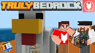 Truly Bedrock SMP - S2: E4 - Redstone Chicken Shop & Cave Spiders