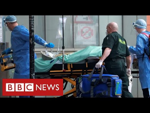 Covid frontline: the harrowing work of fighting for lives at a London hospital  - BBC News