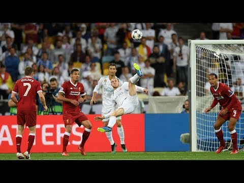 Real Madrid 3-1 Liverpool   Gareth Bale Scores The Best UCL Final Goal Ever!   #InternetReacts