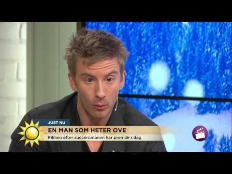 Skådespelarna från En man som heter Ove  Så hanterar du en surgubbe    Nyhetsmorgon TV4