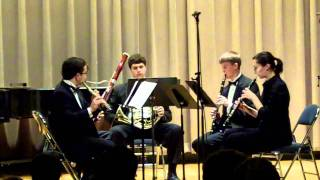 Weinstein Woodwind Quintet - Wind Quintet No. 1 - Jean Francaix