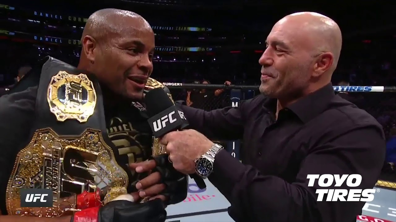 UFC 230: Daniel Cormier Octagon Interview