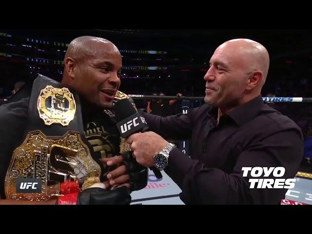 UFC 230: Daniel Cormier Octagon Interview