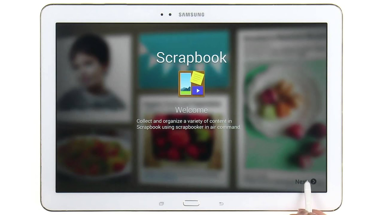 How to use scrapbook
