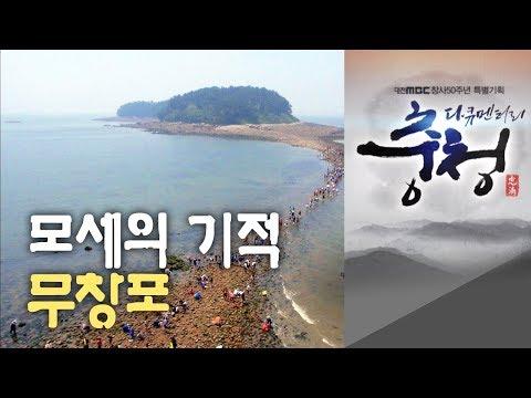 무창포 모세의 기적 대전MBC 다큐멘터리 [다큐충청 제1부:생명의 바다, 서해](2013)] 중에서