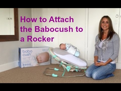 How Do I Attach The Babocush To My Rocker  YouTube