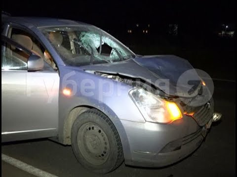 Пьяный водитель  задавил пешехода-нарушителя на окраине Хабаровска. Mestoprotv