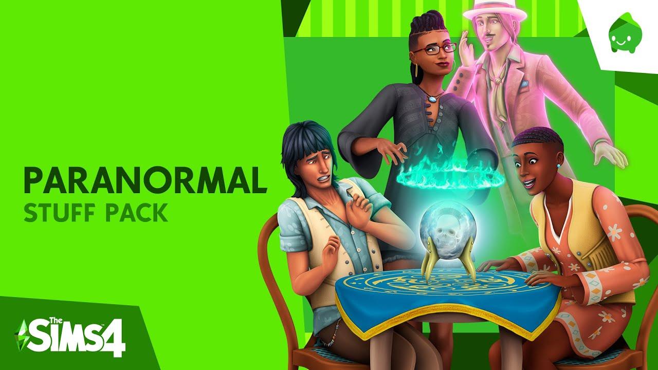 PS4 | The Sims™ 4 - 파라노멀 아이템팩 공식 출시 트레일러