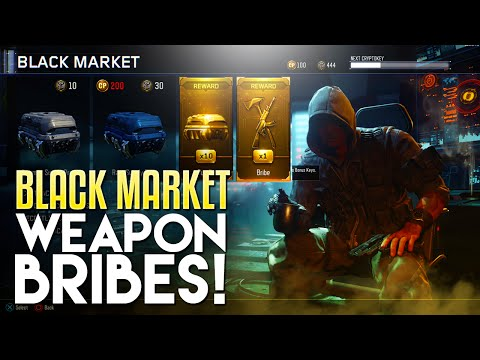 Black Market Weapon Bribes & Contracts! (Black Ops 3 HUGE UPDATE)