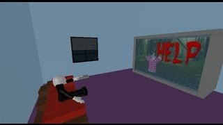 Roblox - Escape Slender man's TV