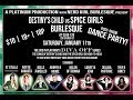 "#1of1-""DESTINY'S CHILD vs SPICE GIRLS Burlesque"" Pictures & video live ""Club 120"" -Toronto-11Jan2014"
