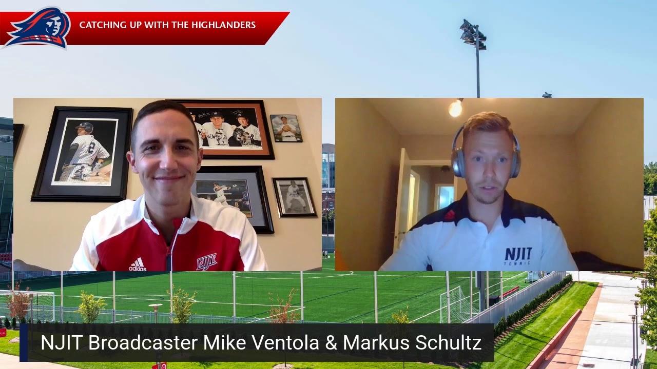 NJIT Athletics Alumni Spotlight: Markus Schultz (men's tennis)