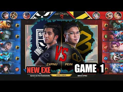 Game1 Suha XCTN Punishers VS Bren Epro | THE NATIONALS