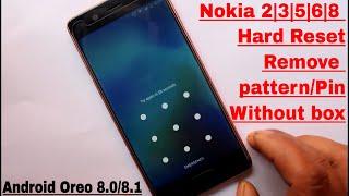 Hard Reset Nokia 2 | 3 | 5 | 6 | 8 Android Oreo 8.0/8.1 New Method