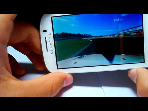 Real Racing 3 on ALCATEL ONE TOUCH POP C3