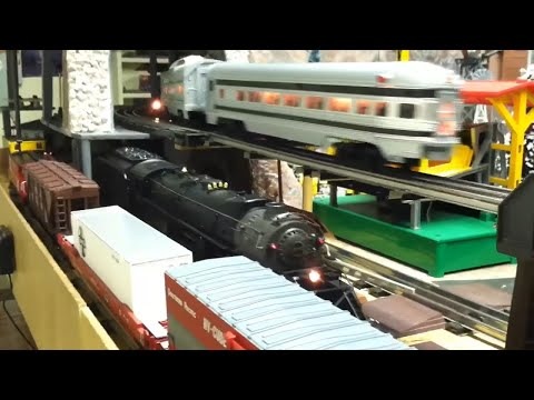 O Scale Train Layout Operation