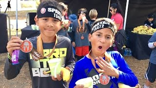 SPARTAN KIDS RACE - Obstacle Course!