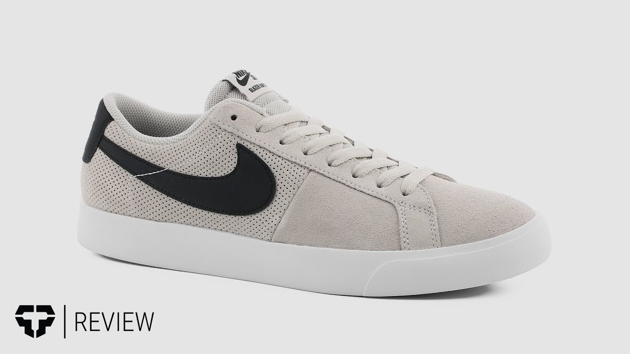 Nike SB Blazer Low Vapor Skate Shoes Review - Tactics.com