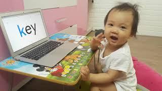 Nhật ký học tiếng Anh Monkey Junior Của chị Đại 1 tuổi ngày 13-05-2019
