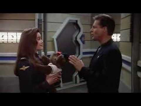 funny scene from Babylon 5 2x14 - There All The Honor Lies
