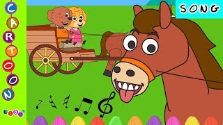paw patrol horsey horsey dont you stopsong paw patrolnursery rhymes ◕‿◕ kidsf