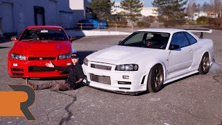 We Found Two LEFT HAND DRIVE Nissan Skyline R34 GTRs! | Genius or Destruction?