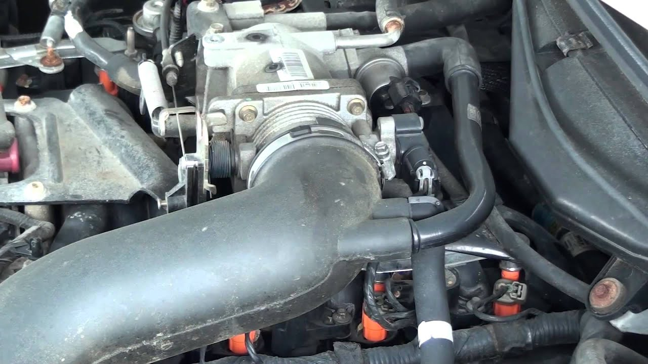 2004 Hyundai Accent Fuel Filter Location