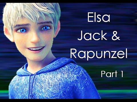 Elsa Jack And Rapunzel (part 1)