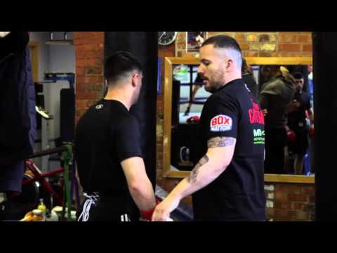 Jack Catterall: Training Session with Lee Beard | 23. 3 .16