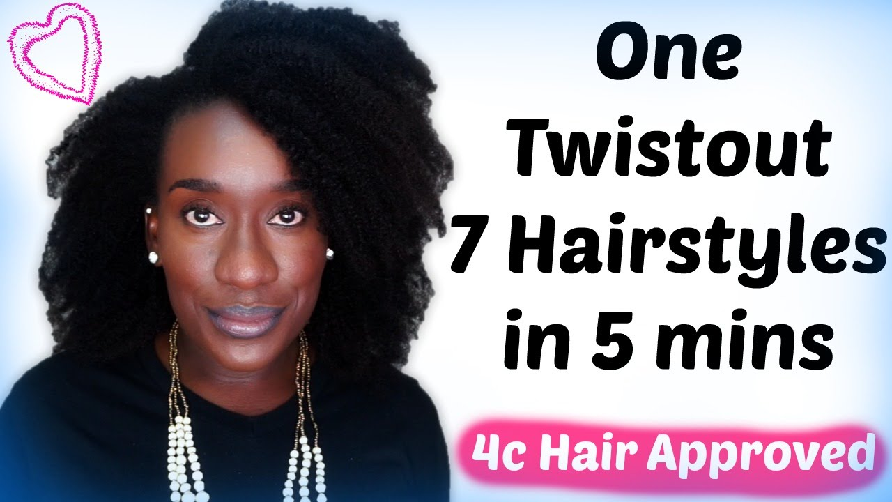hair style clip 7 hairstyles you can do on 4c hair 7238