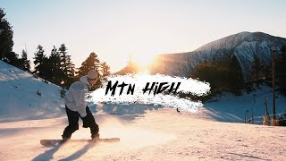 Snowboarding at Mt. High, Wrightwood