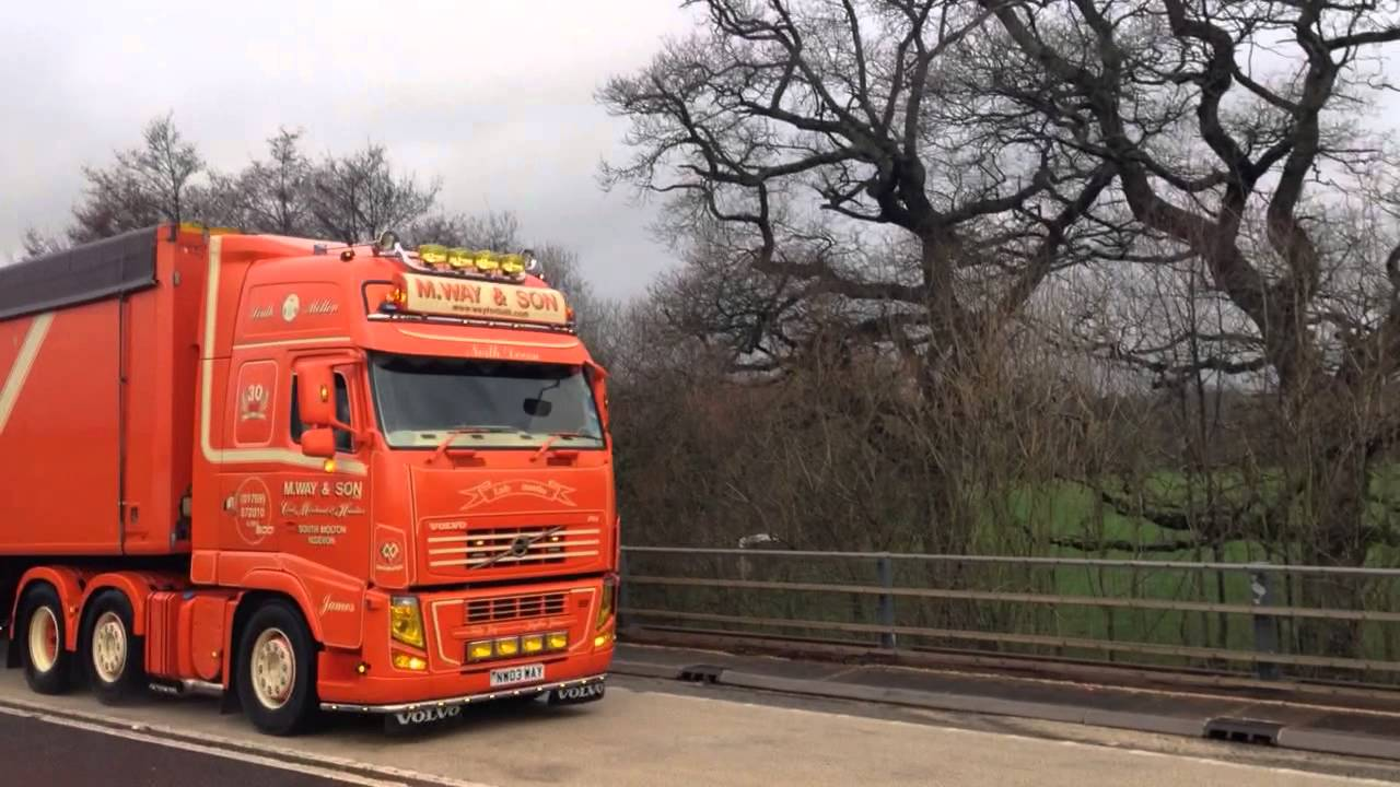 M Way and Son's Volvo FH 500 Dutch Spec - YouTube